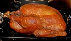 Turkey in the oven